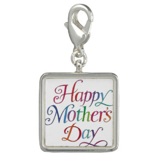 Happy Mother's Day Photo Charms