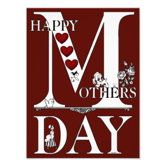 Happy Mothers Day Photo Print