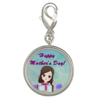Happy Mother's Day Present (Customizable) Charms