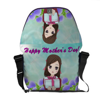 Happy Mother's Day Present (Customizable) Courier Bags