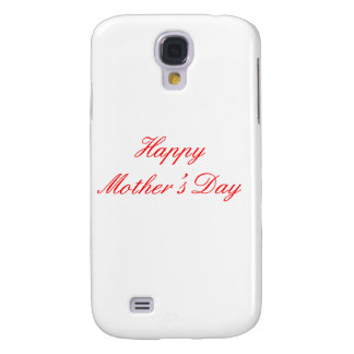 Happy Mother's Day Red The MUSEUM Zazzle Gifts Samsung Galaxy S4 Covers
