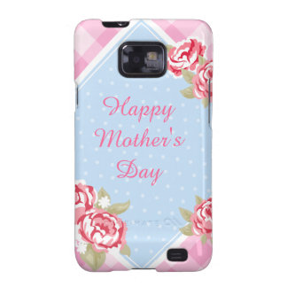 Happy Mother's Day Roses Galaxy S2 Case