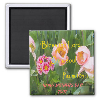 Happy Mother's Day Square Magnet