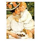Happy Mother's Day. Vintage Art Postcards