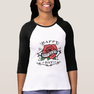 Happy Mother's Day With A Rose T-Shirt