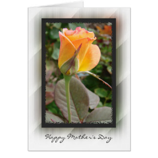 Happy Mother's Day Yellow Rose Card