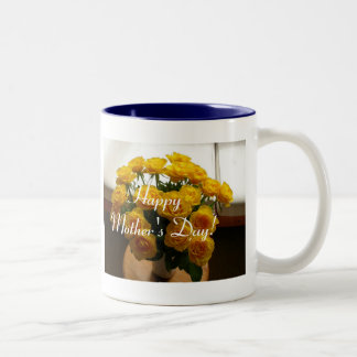 Happy Mother's Day Yellow Roses Mug
