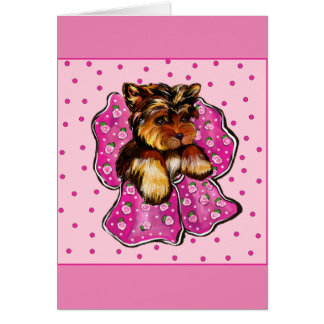 Happy Mothers Day Yorkie Card