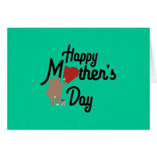 Happy Mothers day Zg6w3 Card
