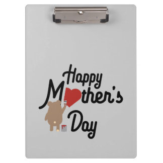 Happy Mothers day Zg6w3 Clipboards