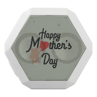Happy Mothers day Zg6w3 White Bluetooth Speaker