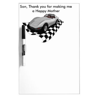 Happy Mother's/Father's Day. Customizable Dry Erase Whiteboards