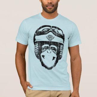 Happy Moto Monkey (vintage black) T-Shirt