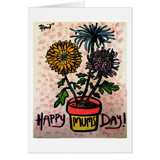 Happy Mums Day Card