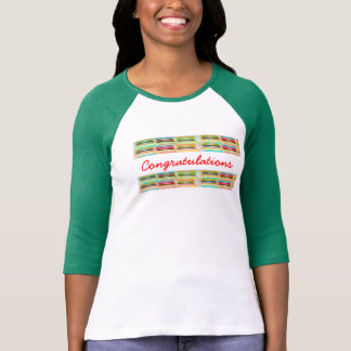 Happy n Vibrant Colorful Life - Editable Text Tee Shirts