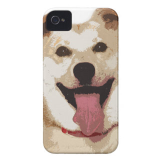 Happy National Dog Day iPhone 4 Case-Mate Cases