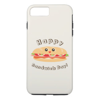 Happy National Sandwich Day Cute And Kawaii iPhone 7 Plus Case