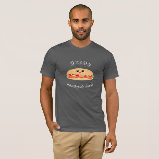 Happy National Sandwich Day Cute And Kawaii T-Shirt