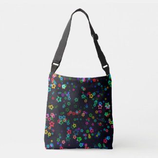 Happy Neon Star Crossbody Bag
