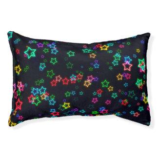 Happy Neon Star Pet Bed