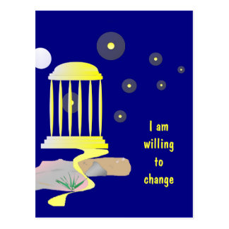 Happy New Journey Affirmation Postcard