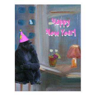HAPPY NEW YEAR 2010 POSTCARD