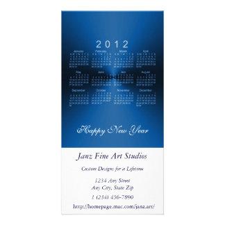 Happy New Year 2012 Calendar Card