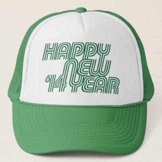Happy new Year 2014 Trucker Hat