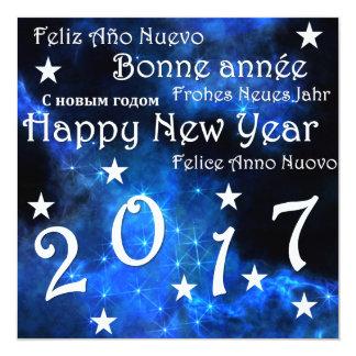 Happy new year 2017 card