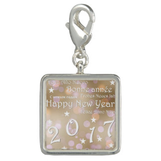 Happy new year 2017 charms