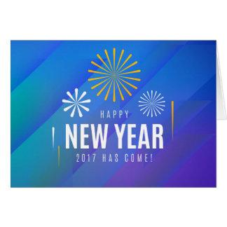 happy new year 2017 greetingcard card