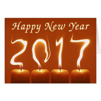 Happy New Year 2017 original Greeting Card