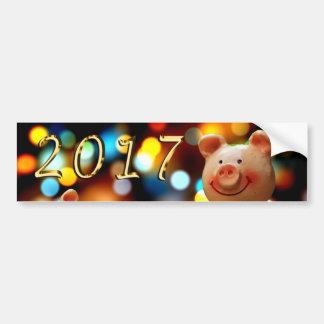 Happy New year 2017 Sticker