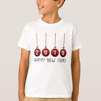 Happy New Year 2018 Apparel T-Shirt