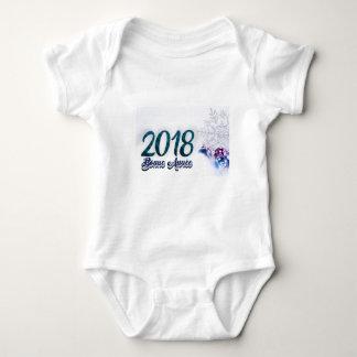 Happy New Year 2018 Baby Bodysuit