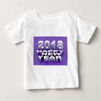 Happy New Year 2018 Baby T-Shirt