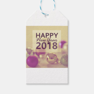 happy new year 2018 gift tags