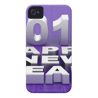 Happy New Year 2018 iPhone 4 Case