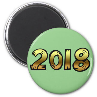 Happy New Year 2018 Magnet