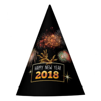 Happy New Year 2018 Party Hat