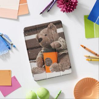 Happy New Year 2018. Teddy Bear. iPad Air Cover
