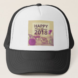 happy new year 2018 trucker hat