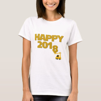 Happy New year 2018 Women T-Shirt
