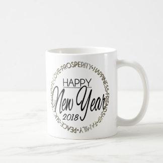 Happy New Year 20XX Coffee Mug