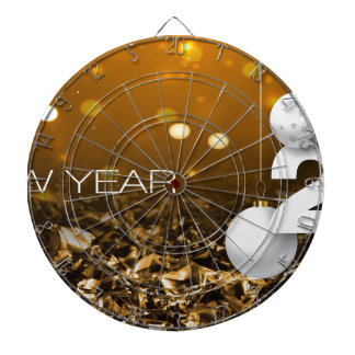 Happy-New-Year #2 Dartboard