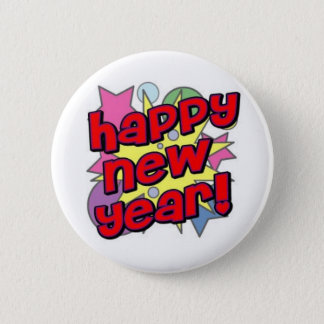 Happy New Year! 2 Inch Round Button