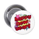 Happy New Year! 2 Inch Round Button