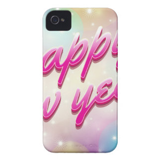 Happy-New-Year Balloons iPhone 4 Case-Mate Case