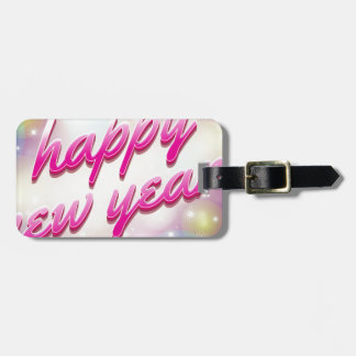 Happy-New-Year Balloons Luggage Tag