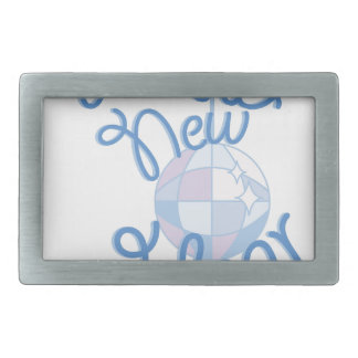 Happy New Year Belt Buckle